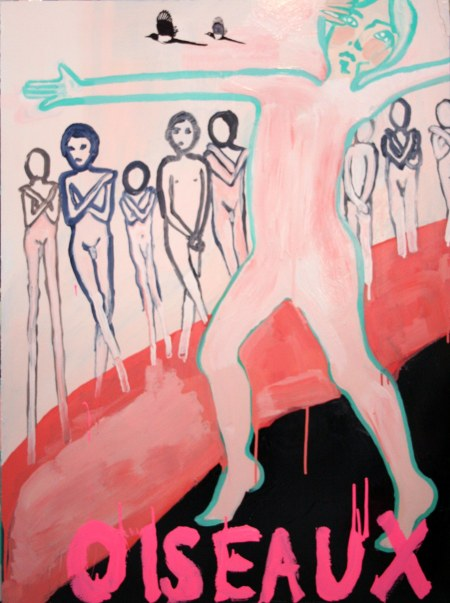 The Boys Trpitych, Oil, Gloss, Pigment